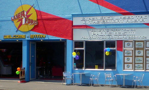 Exterior of Laserforce Hawke's Bay